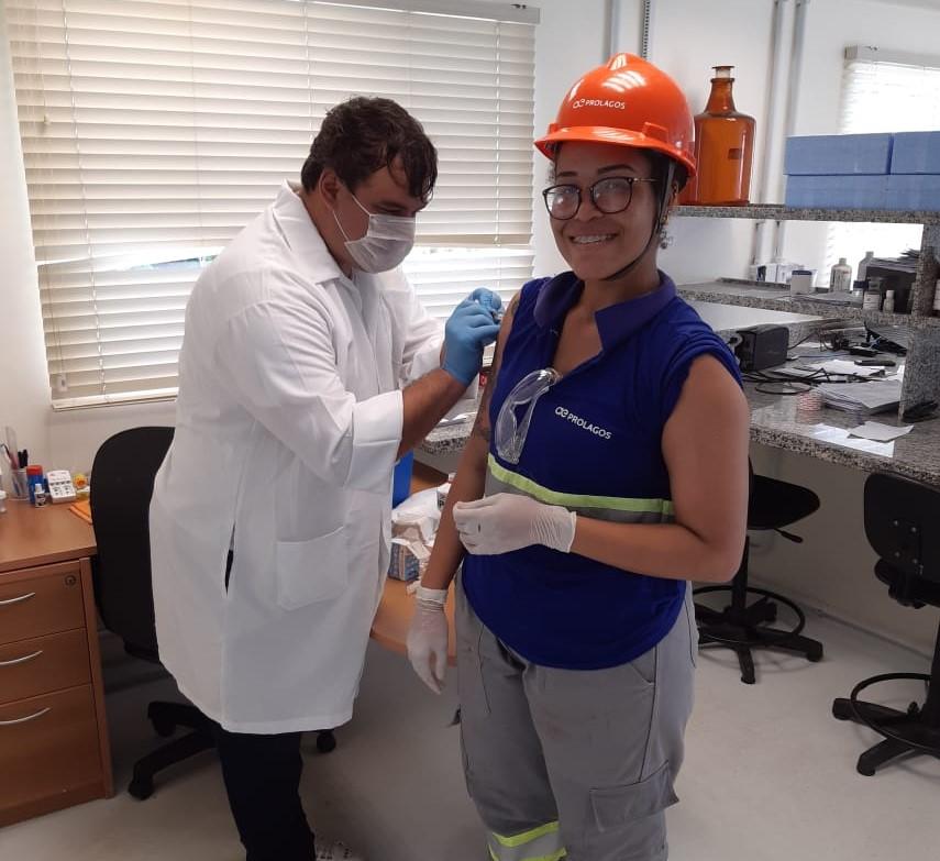 Prolagos promove campanha de vacinaçãocontra a Influenza